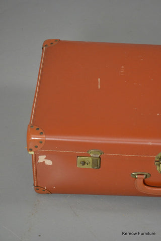 Vintage Brown Suitcase - Kernow Furniture 100s vintage, retro & antique items in stock