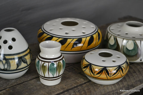 Collection of Jersey Pottery (2) - Kernow Furniture 100s vintage, retro & antique items in stock