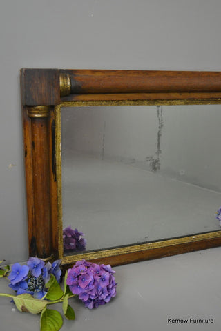 Regency Style Overmantle Mirror - Kernow Furniture 100s vintage, retro & antique items in stock