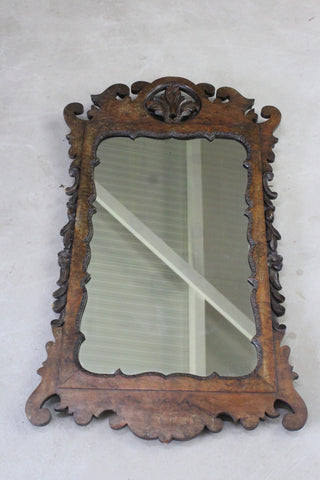 antique georgian style mirror
