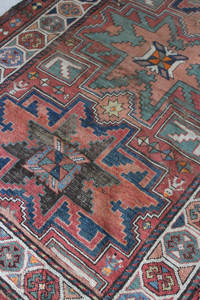 Antique Armenian Garabagh Rug - Kernow Furniture
