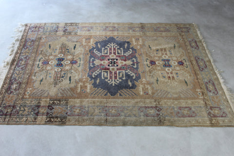 Antique Wool Erivan Rug - Kernow Furniture