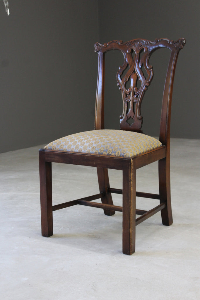 Chippendale Style Single Dining Chair - Kernow Furniture