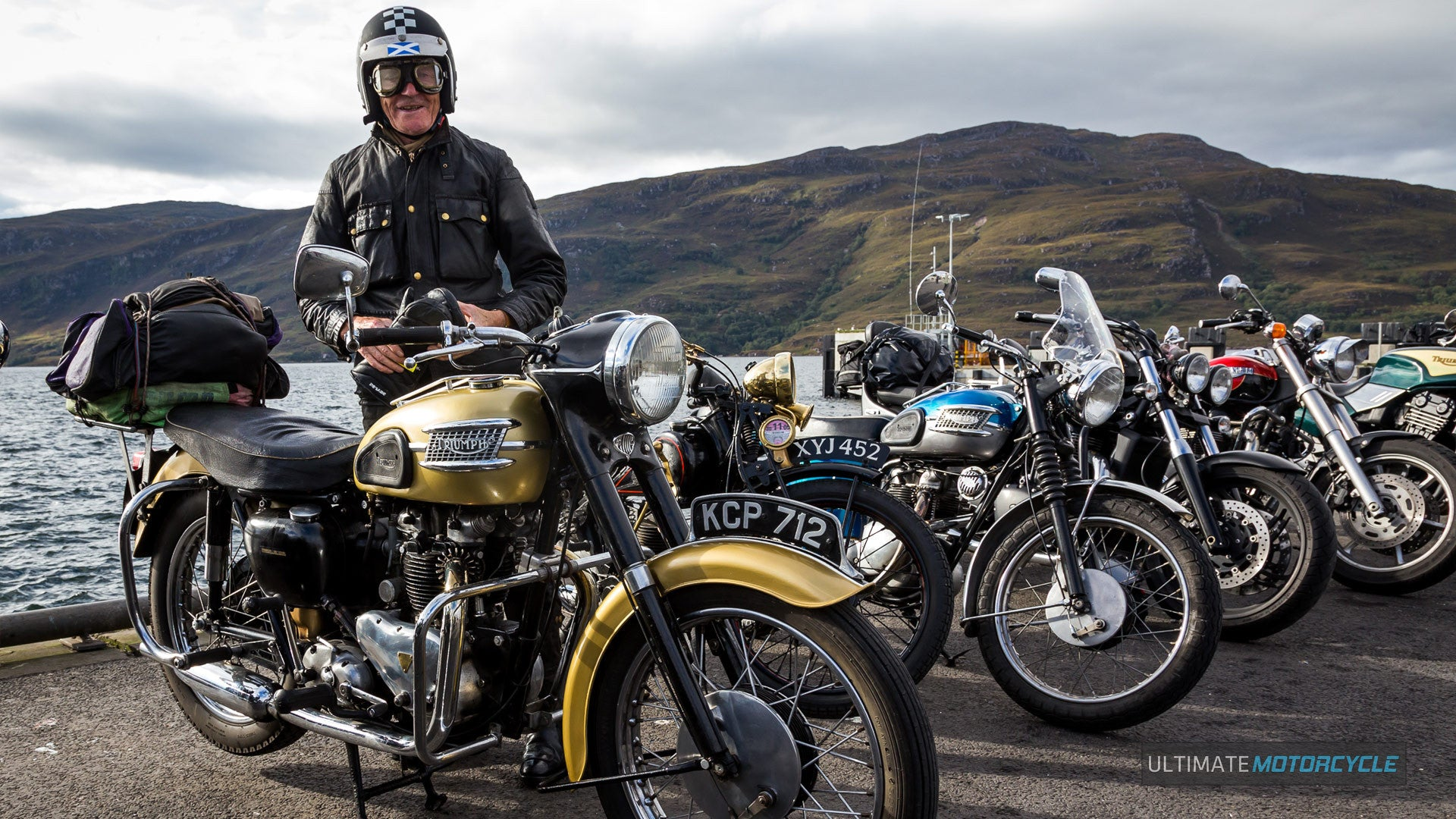 Weekend of the Triumph Trifest Ullapool Sept 16-19
