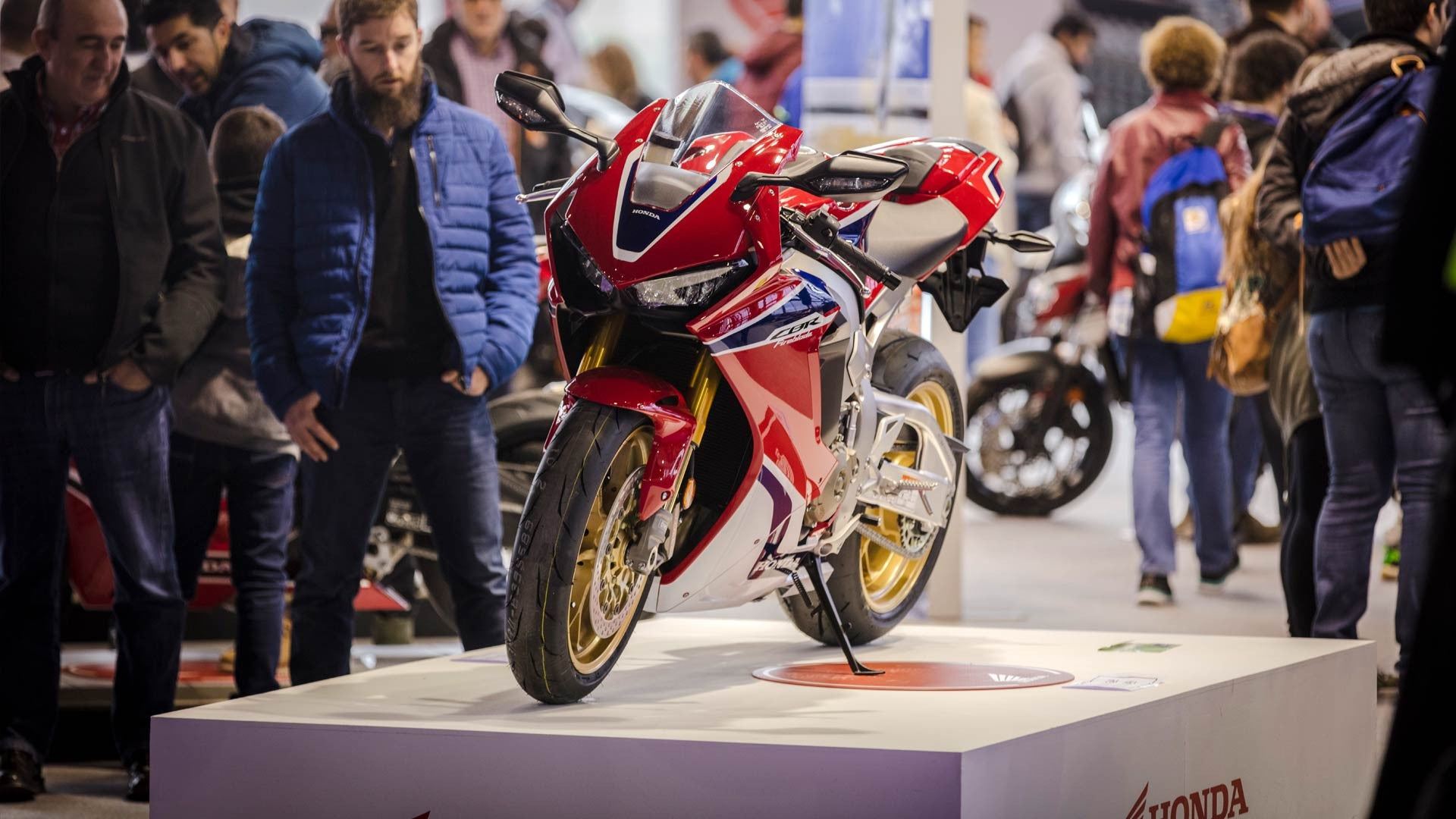 A visit to Moto Madrid - The largest motorcycle show in Spain