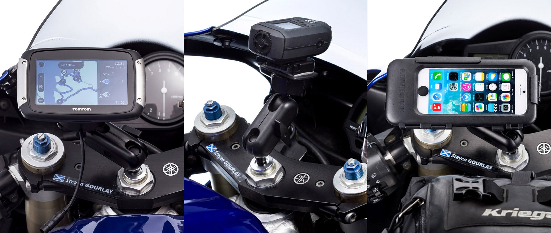 Motorcycle Mount Extender