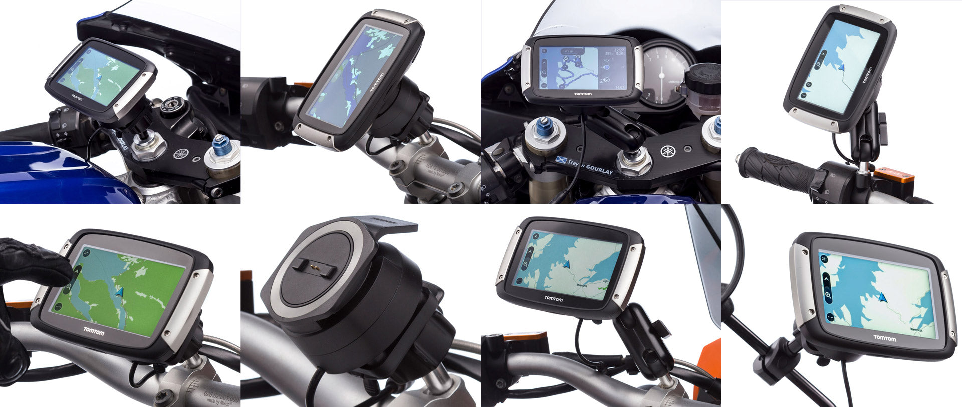 Ultimateaddons TomTom Rider Adapter