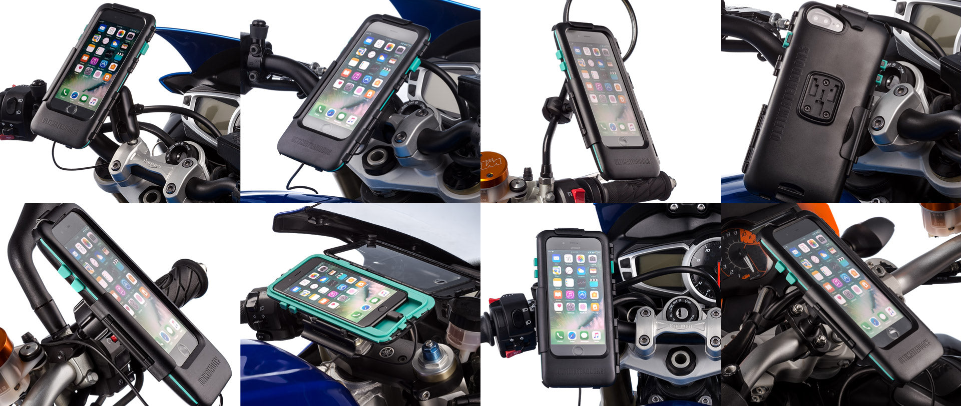 iPhone 7 Plus motorcycle tough mount case