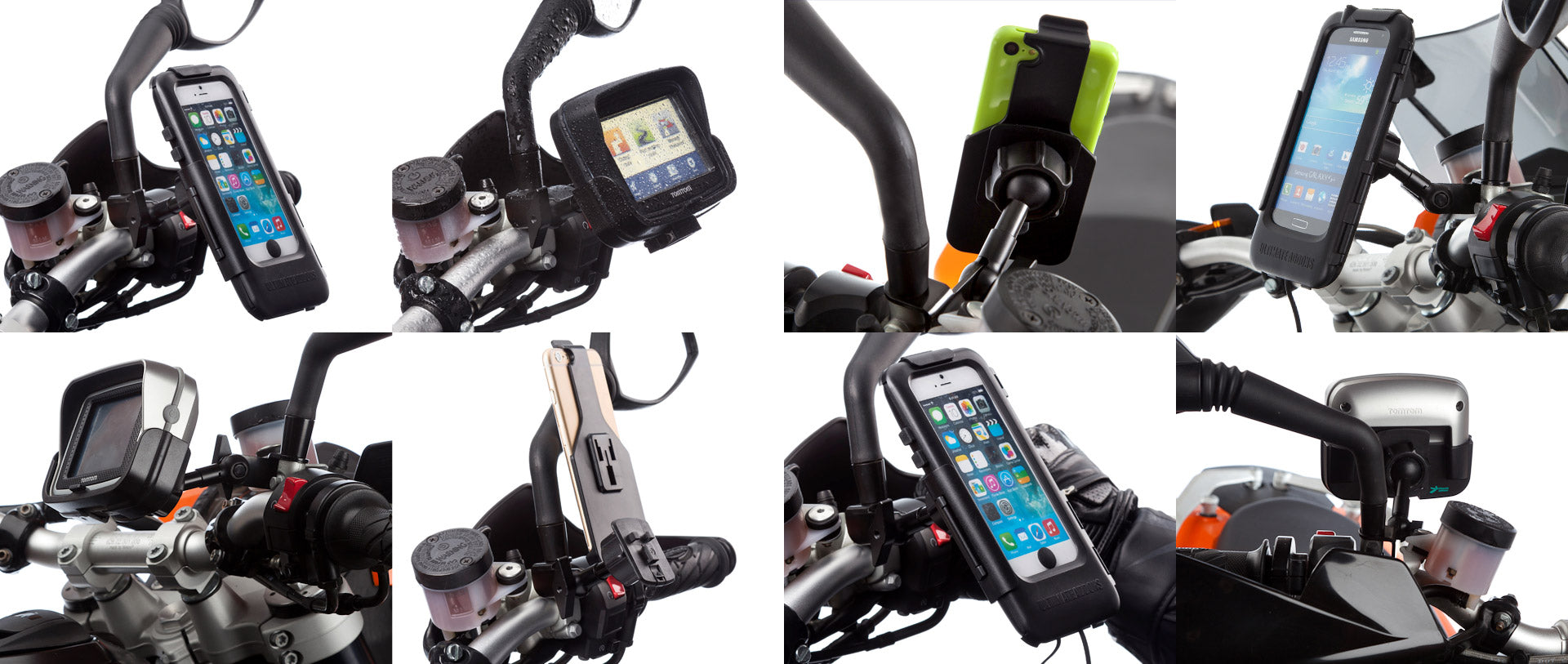 Motorcycle mirror v2 mount by Ultimateaddons