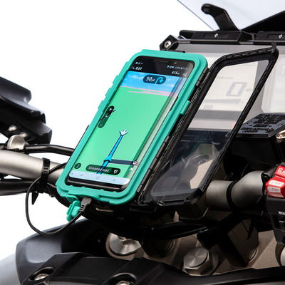 Samsung Galaxy S8 Motorbike Hard Case Handlebar Kit