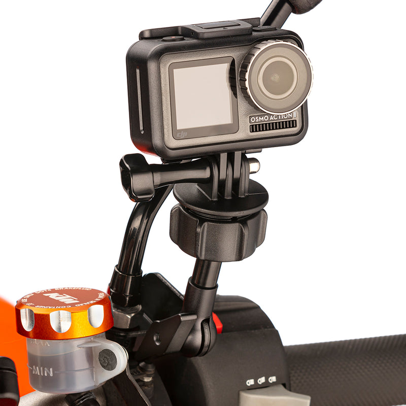 DJI Osmo Action Motorcycle Mirror Bracket Mount by Ultimateaddons