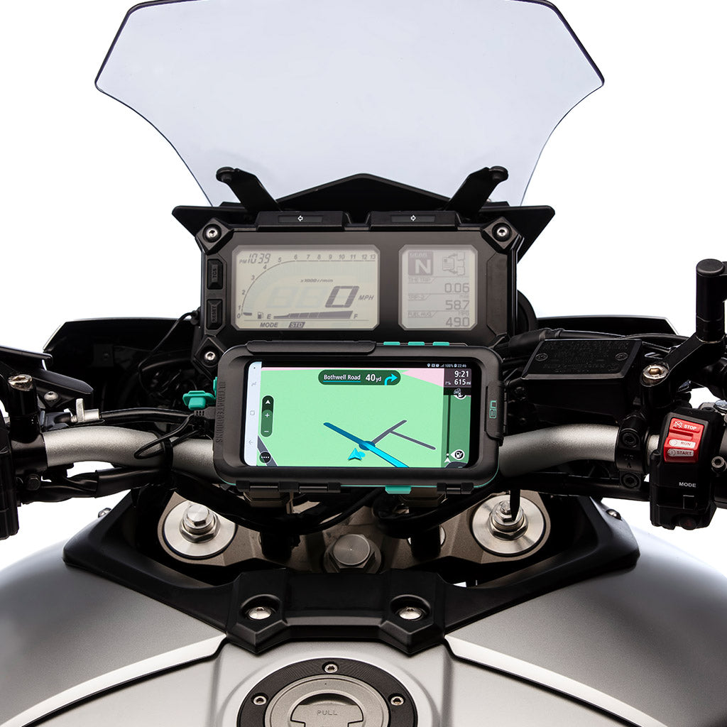 Samsung Galaxy S9 Motorcycle Tough Case Handlebar Mount Kit