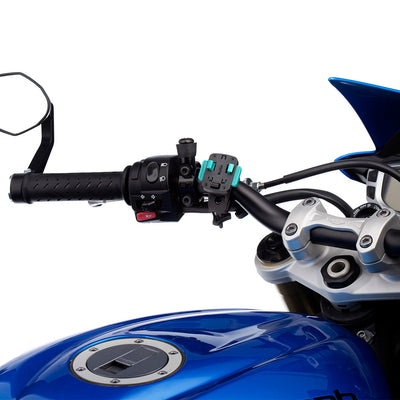 Motorcycle Quick Release Handlebar Attachment - 21-30mm