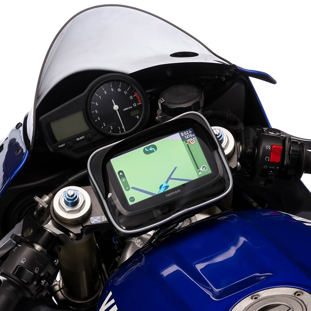 Motorcycle Water Resistant Mount Case Garmin Nuvi Sat Nav