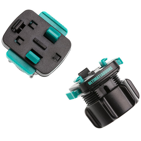 25mm to 3 Prong Adapter V2 with Push Buttons