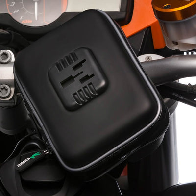 Scooter Mirror Mount Water Resistant Case for Garmin Nuvi