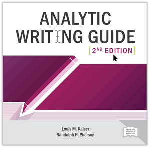 E-book: Analytic Writing Guide, 2nd edition