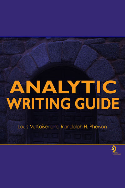 E-book: Analytic Writing Guide