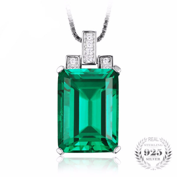 Luxury Emerald Pendant
