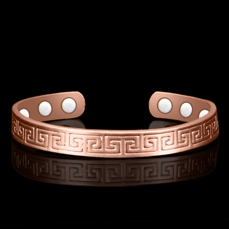 Pure Copper Magnetic Wrist Bangle