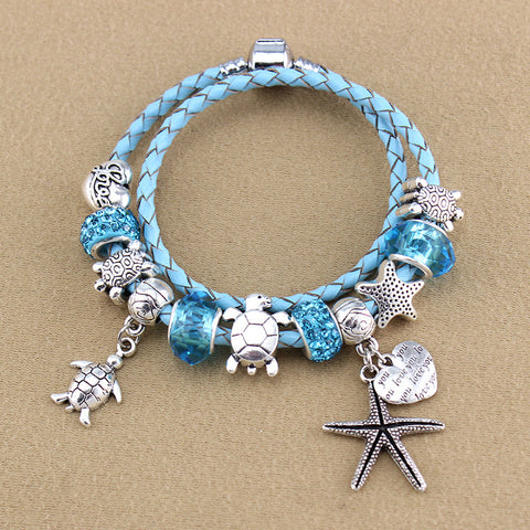 Sea turtles Charm Bracelets