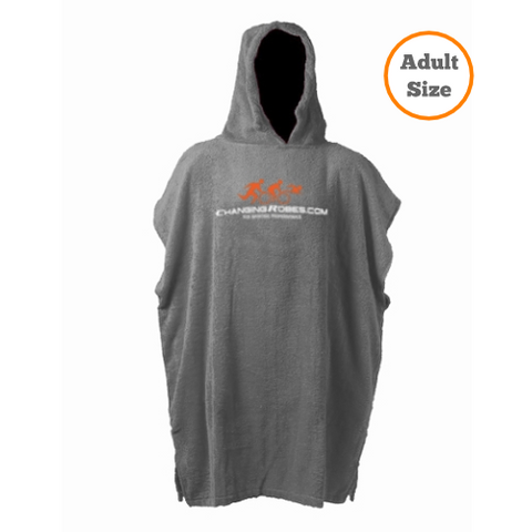 Changing Robes for Sporting Pro's - Adult Size - Grey