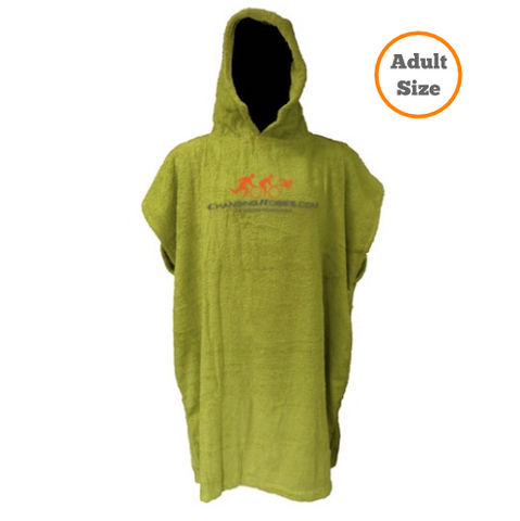 Changing Robes for Sporting Pro's - Adult Size - Lime Green