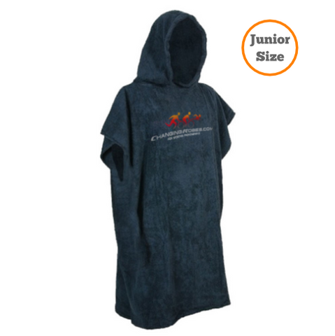 Changing Robes for Sporting Pro's - Junior Size up to 11yrs - Dark Navy