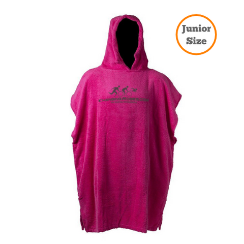 Changing Robes for Sporting Pro's - Junior Size up to 11yrs - Pink