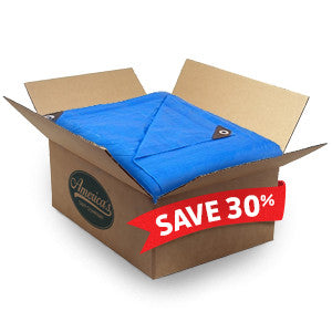 Blue Poly Tarps - Cases