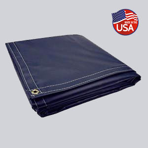 Heavy Duty 18oz Vinyl Tarps - All Sizes & Colors