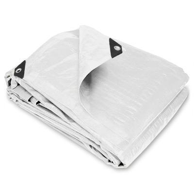 Heavy Duty White Poly Tarps