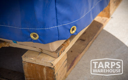 tarps warehouse grommets