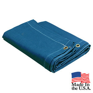10 x 18 Blue 16oz Canvas Tarp