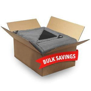 Heavy Duty Tarps - Bulk Price - 20+ Sizes - Silver/Black - Strong 14 Mil Thick Poly Tarps