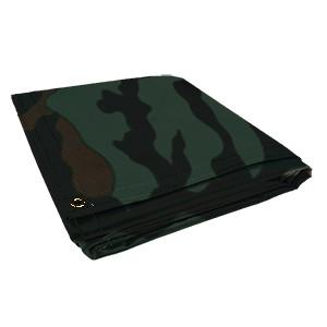 All Sizes 18oz Heavy Duty Vinyl Tarps - Camouflage - Start at $23.49