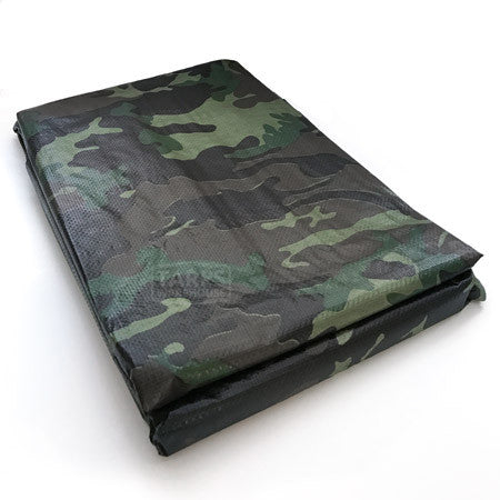 10 x 10 Camouflage Poly Tarp