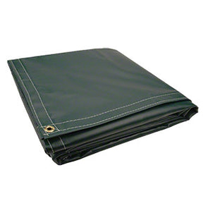 8 x 10 Green 18oz Vinyl Tarp