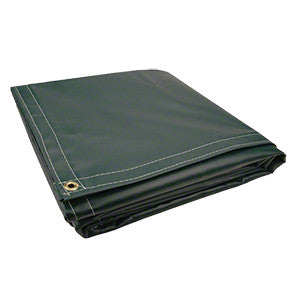 10 x 10 Green 18oz Vinyl Tarp