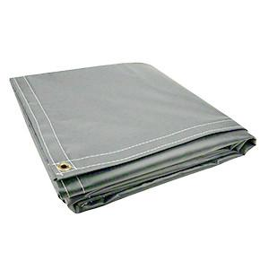 All Sizes 18oz Heavy Duty Vinyl Tarps - Gray - Start at $23.49
