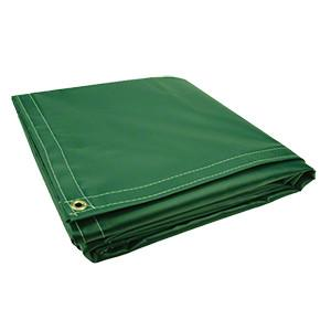 All Sizes 18oz Heavy Duty Vinyl Tarps - Kelly - Start at $23.49