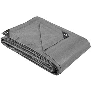 50 x 50 Large Heavy Duty Silver Poly Tarp