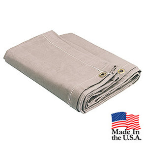 10 x 16 White 12oz Natural Canvas Tarp - Only 2 Left In Stock