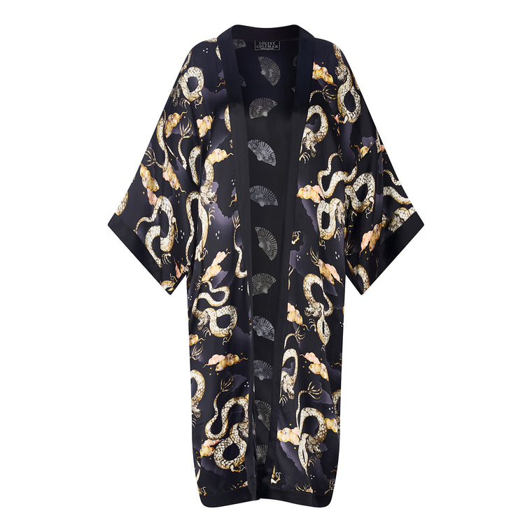 Magic Dragon Long Kimono