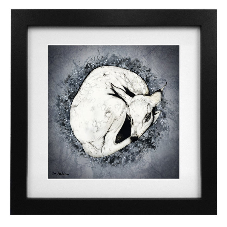 Limited Edition Sleeping Bambi Art Print