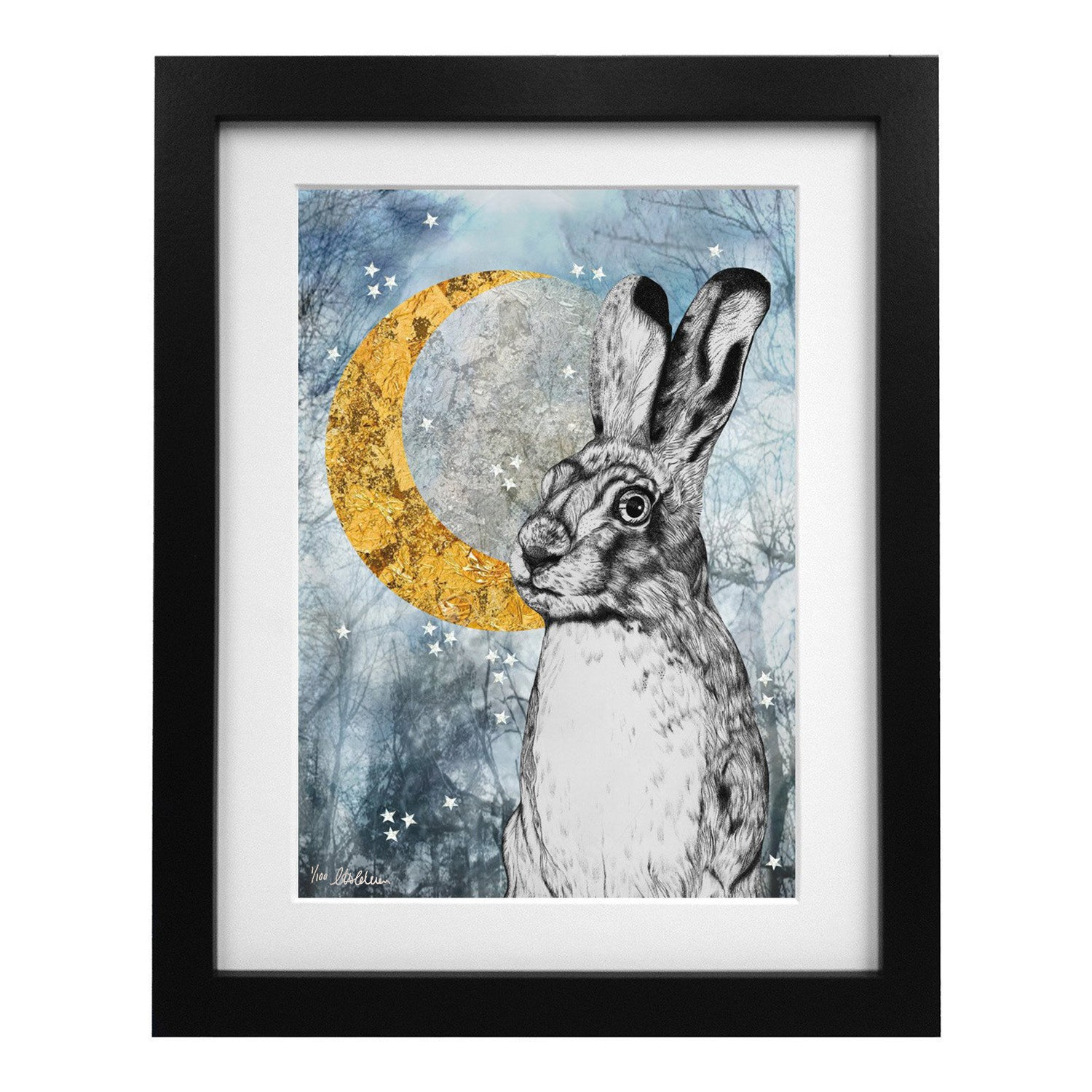 Limited Edition Lucky Hare Art Print