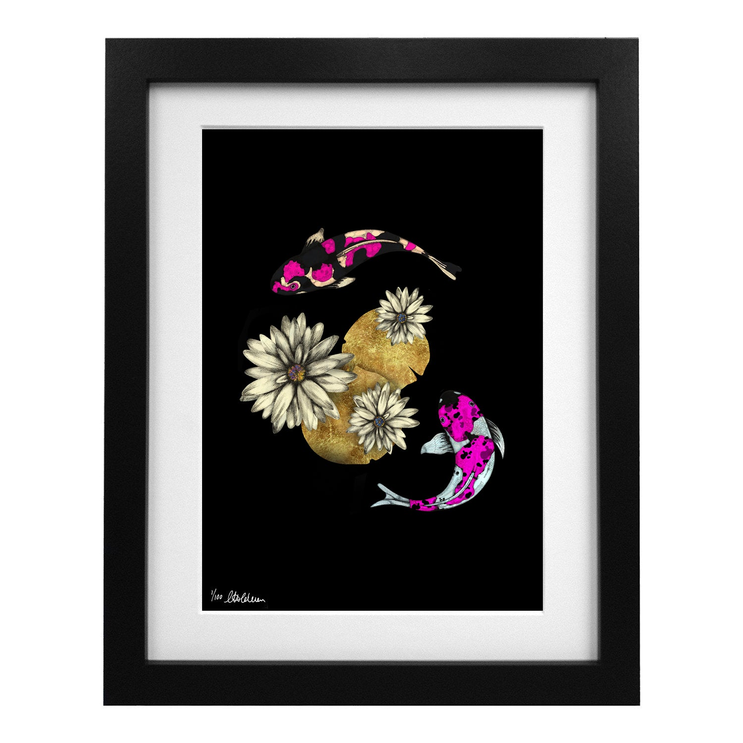 Limited Edition Kawaii Koi Art Print