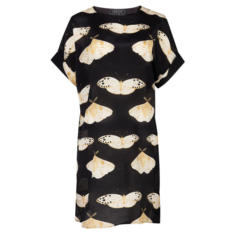 Gold Moth Tunic Dress