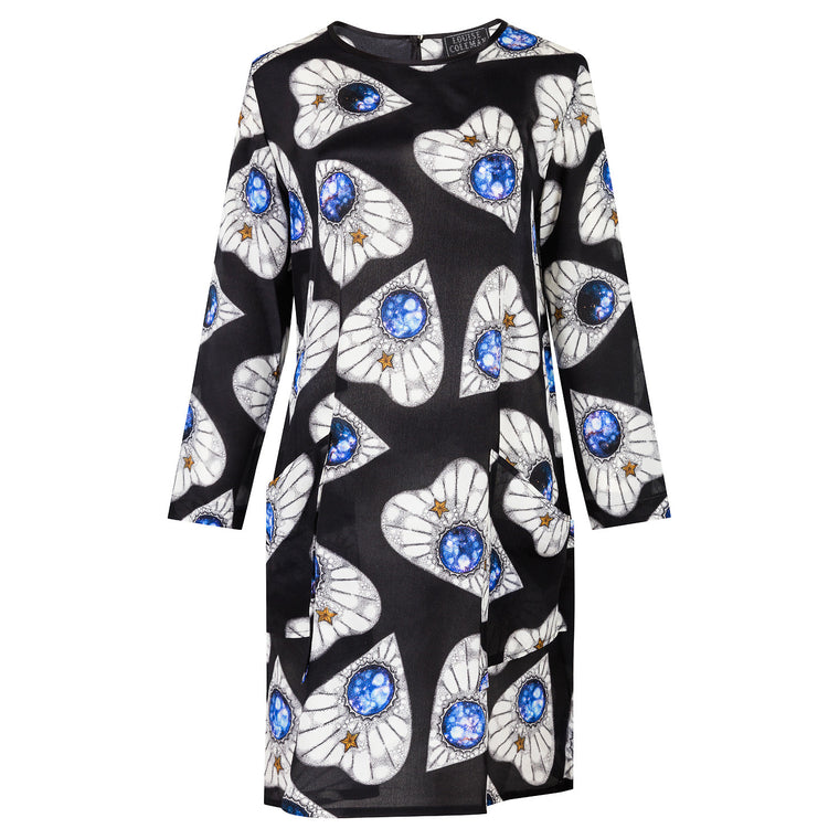 Planchette Silk LS Dress