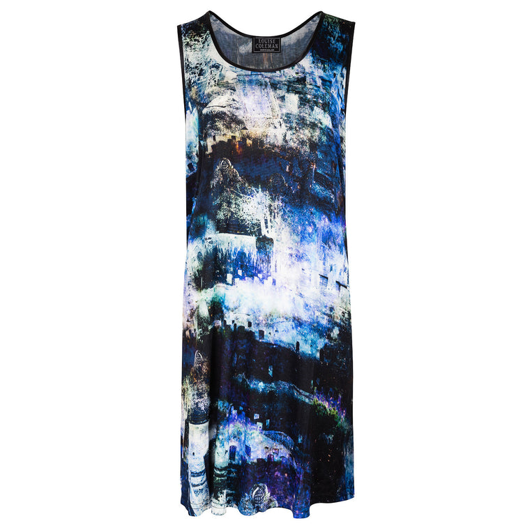 Midnight Jersey Vest Dress